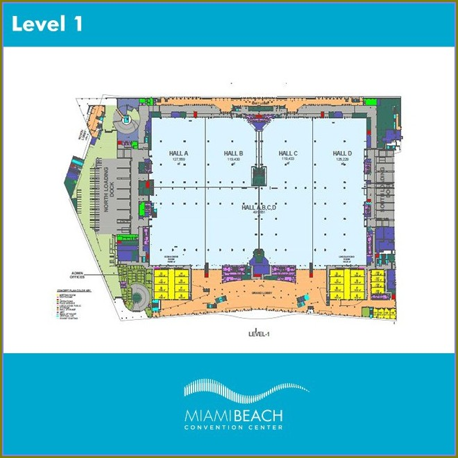 Hotels Near Miami Convention Center Map