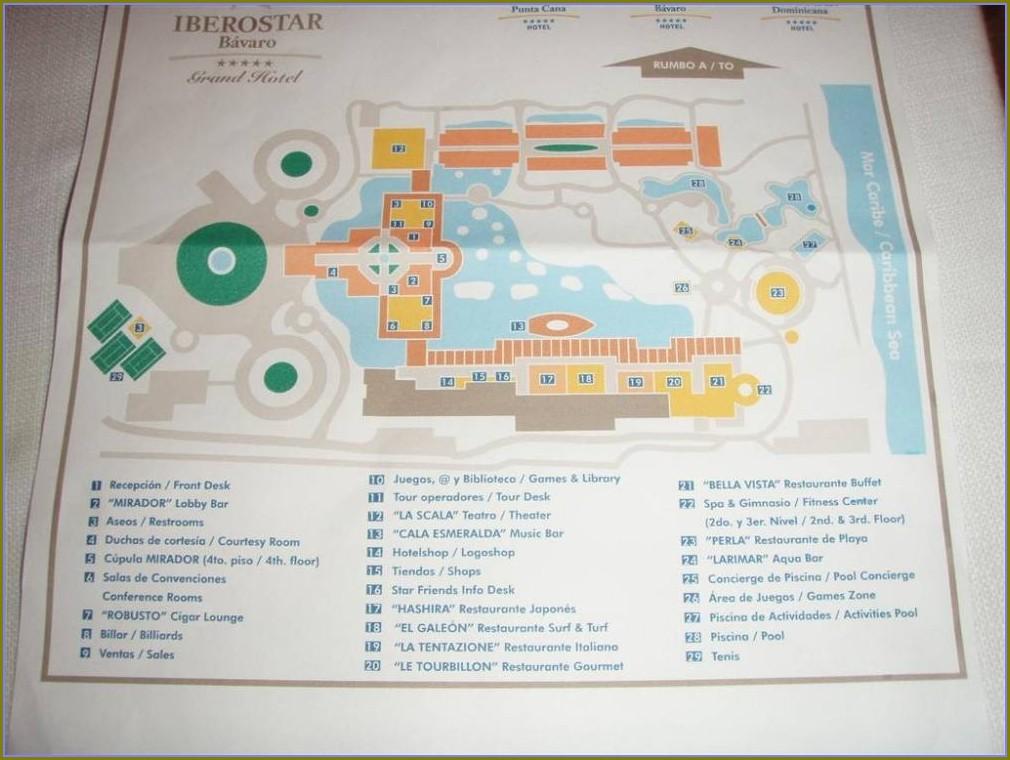 Iberostar Grand Bavaro Map