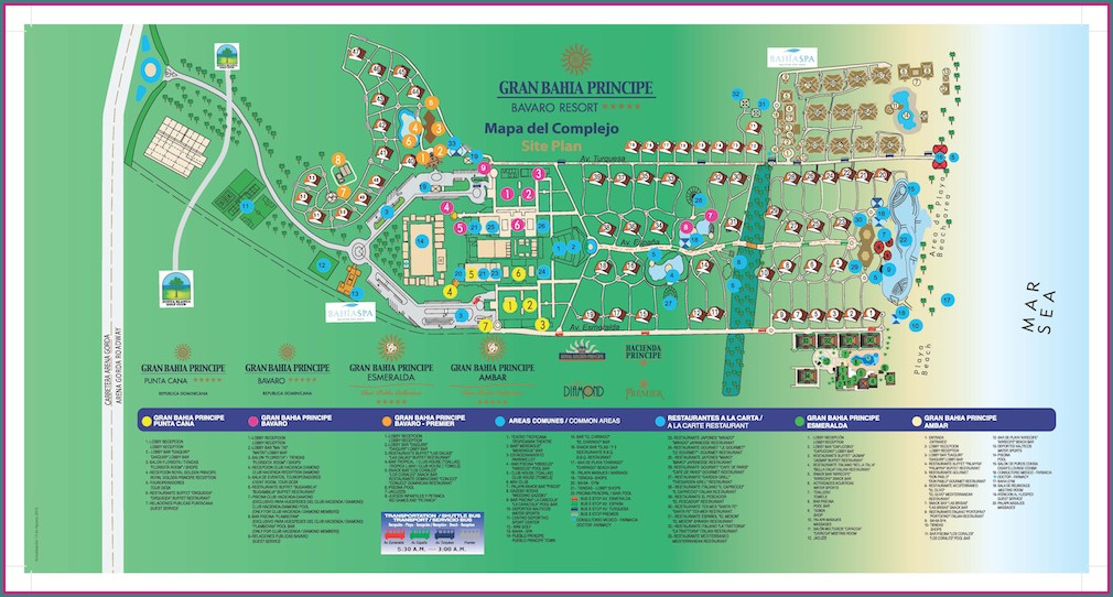 Iberostar Selection Bavaro Resort Map
