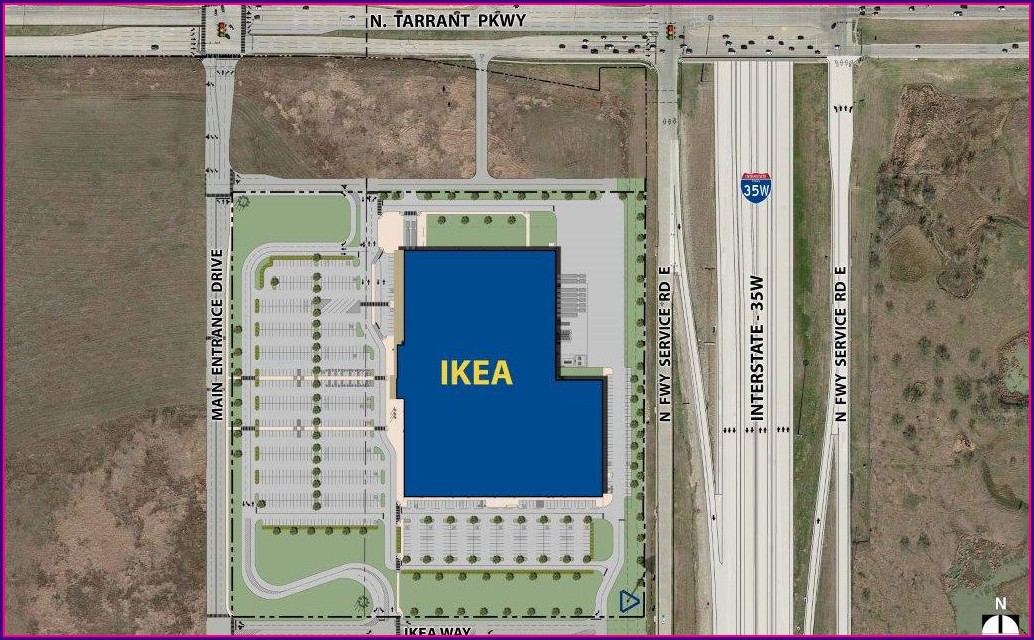 Ikea Round Rock Store Map
