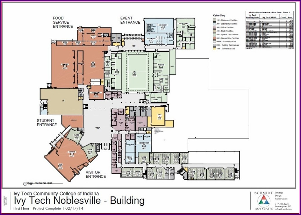 Ivy Tech Noblesville Campus Map