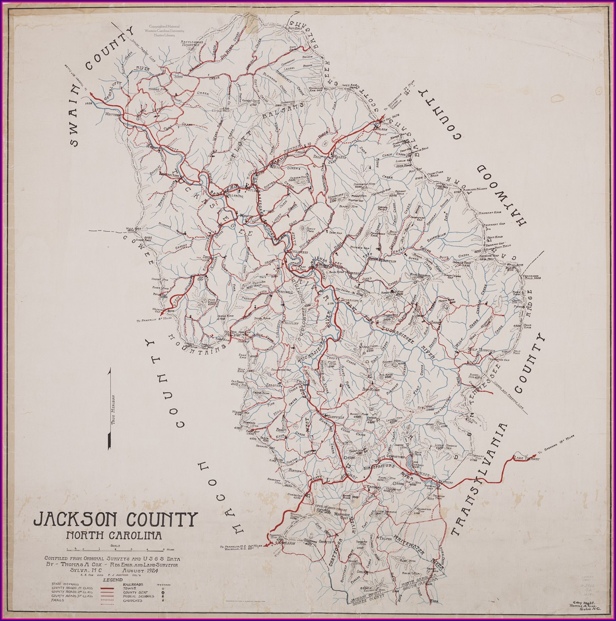 Jackson County Nc Property Owners Map