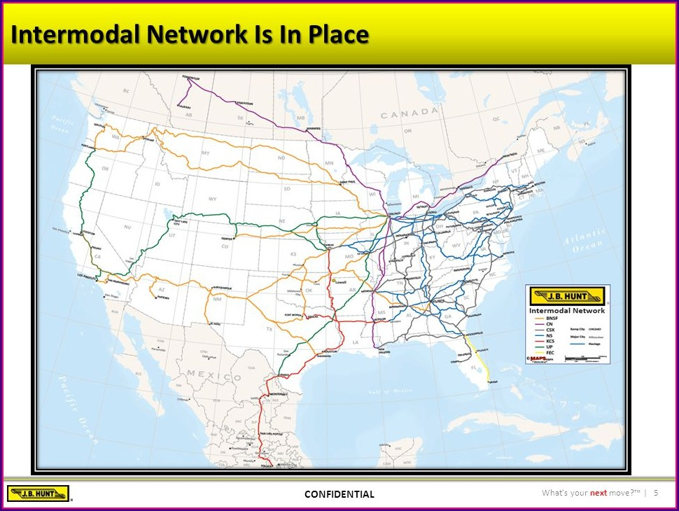 Jb Hunt Intermodal Map