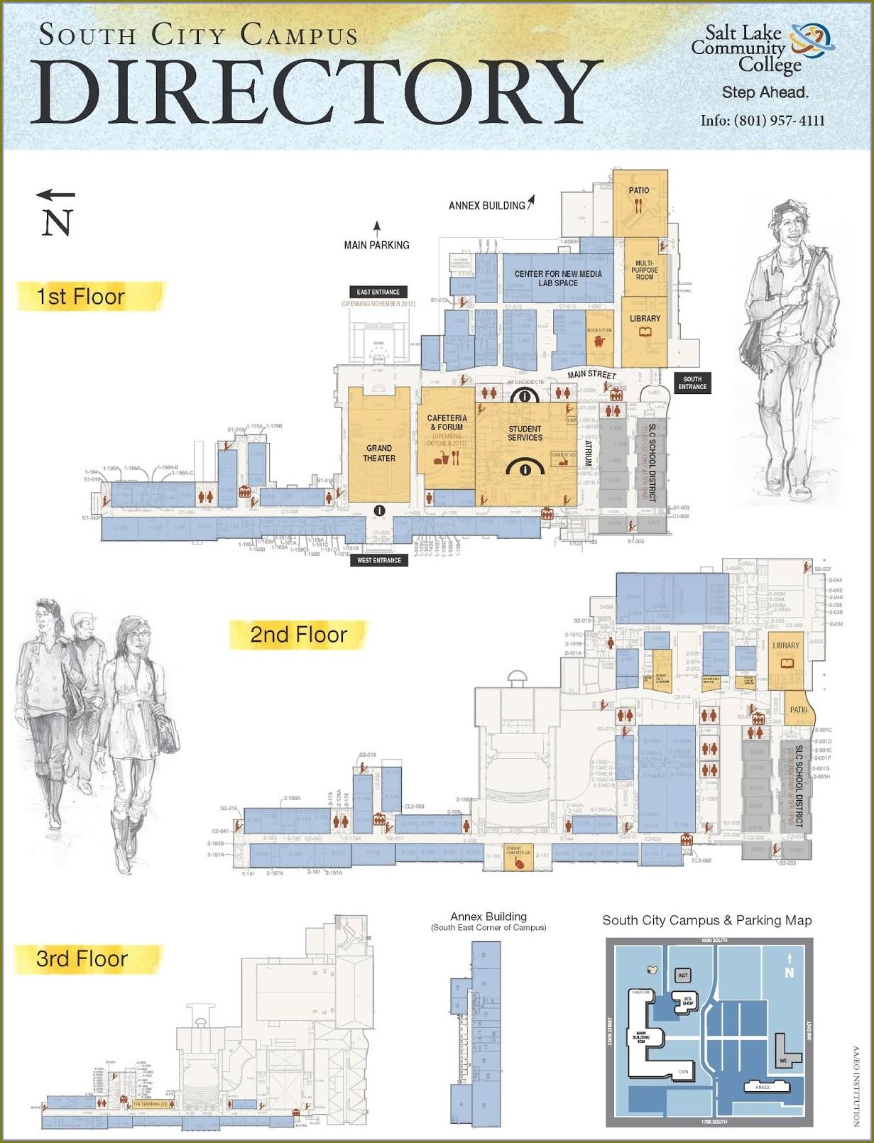 Jordan Slcc Campus Map