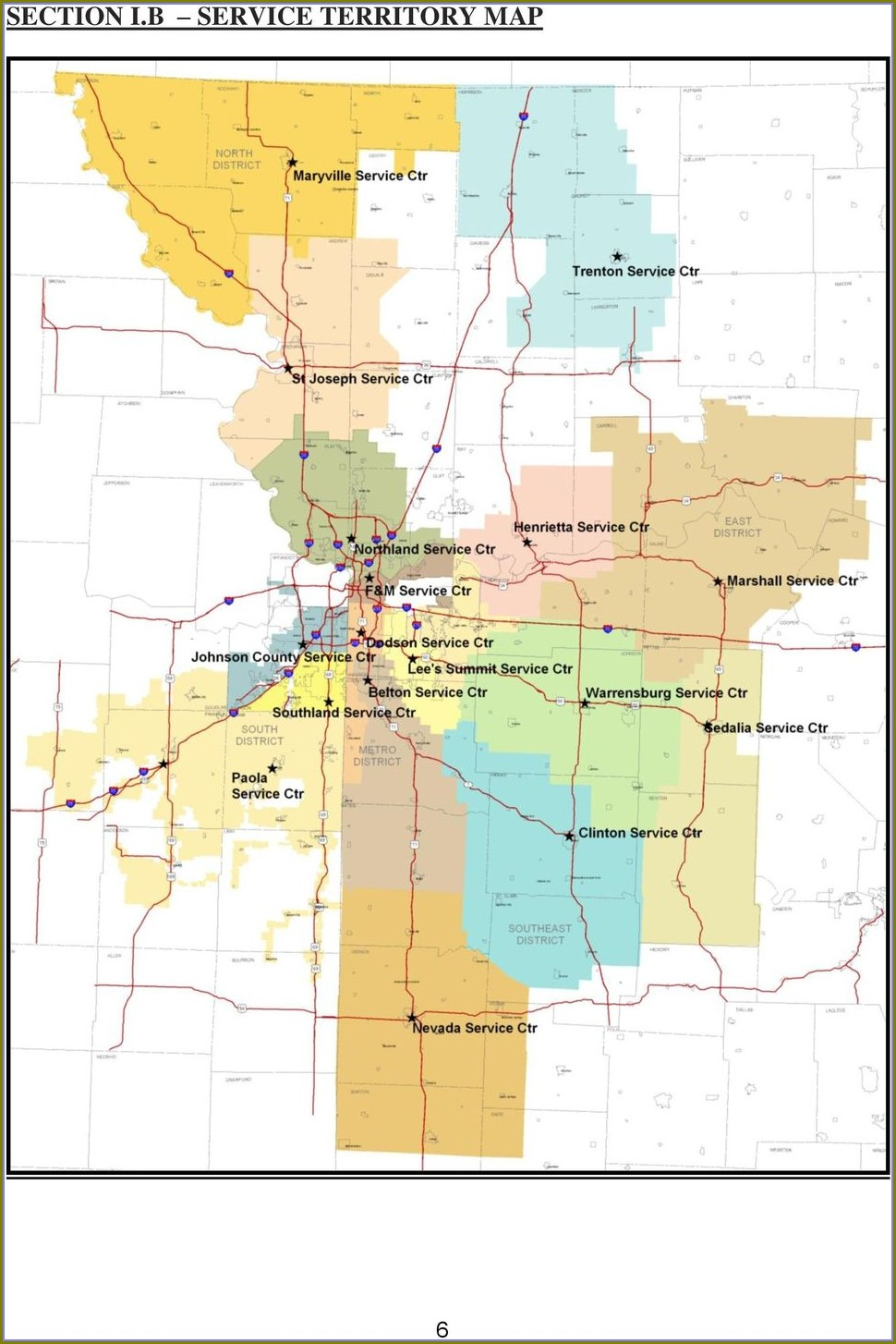 Kcpl Service Territory Map