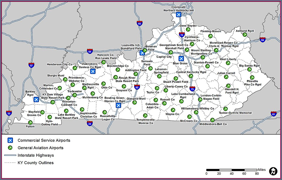 Kentucky Dot Traffic Map