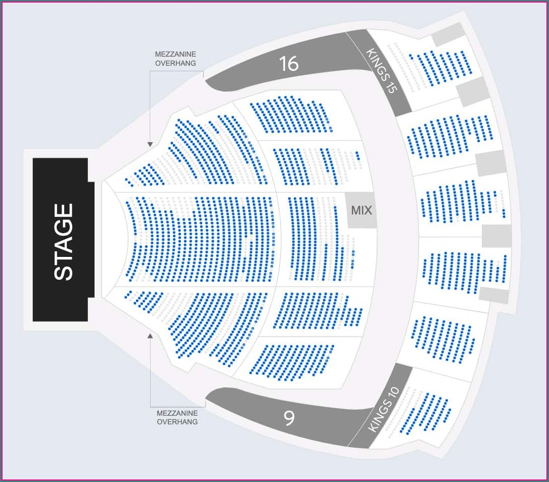 Kings Theatre Brooklyn Seat Map