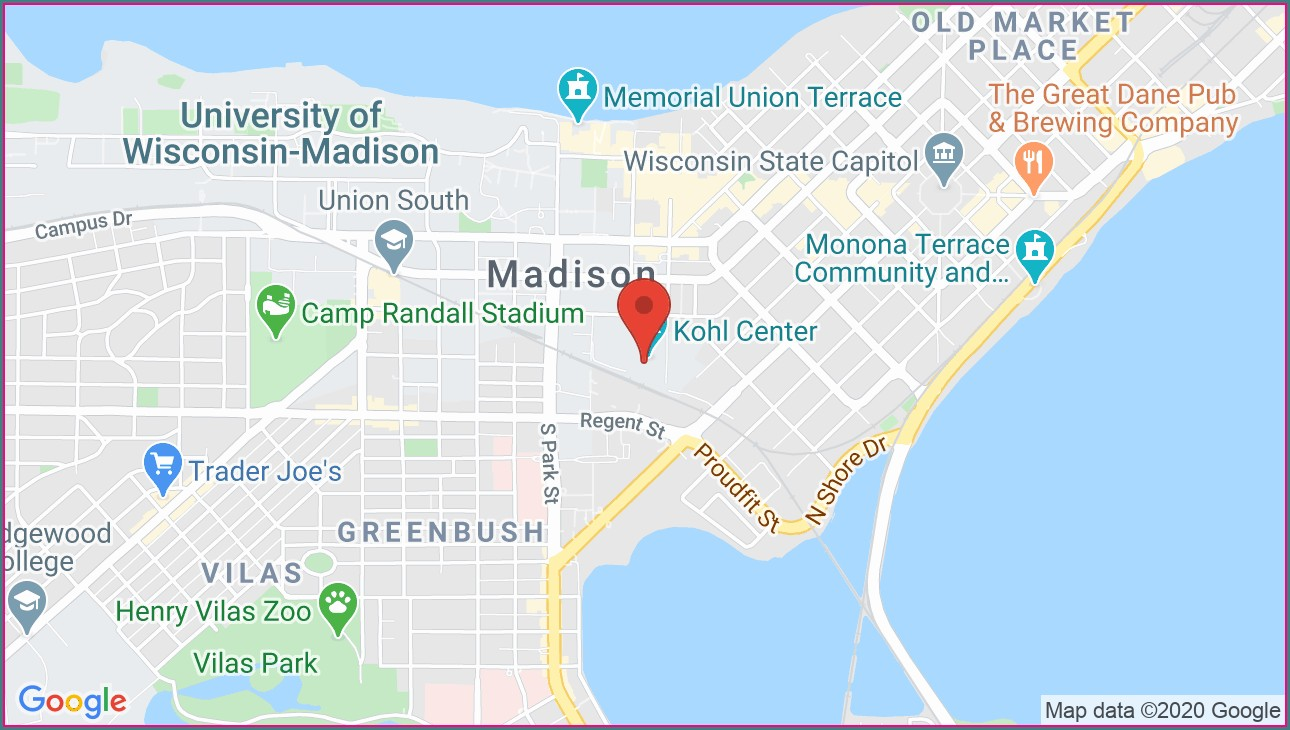 Kohl Center Madison Wi Map