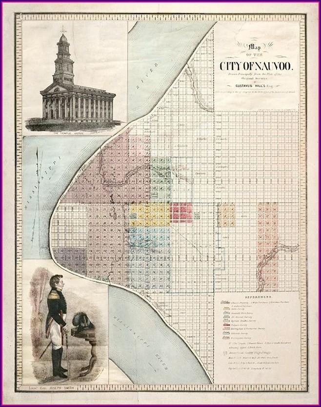 Lds Church History Map