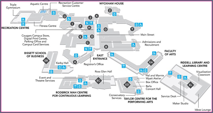 Lincoln Park Conservatory Map