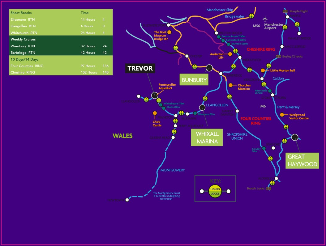 Llangollen Canal Map Download