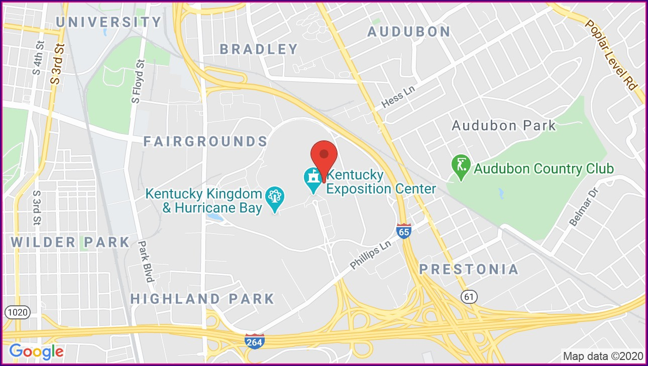 Louisville Expo Center Map