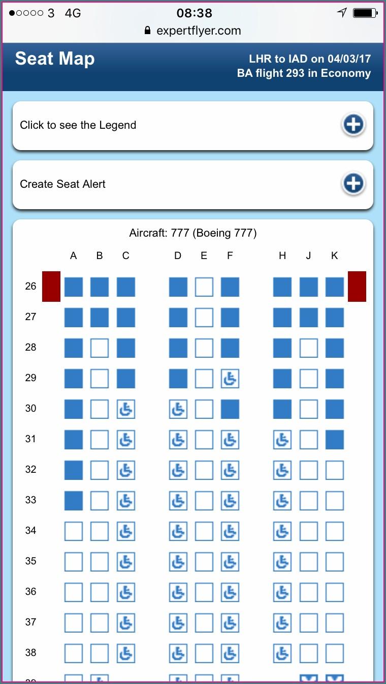 Lufthansa 413 Seat Map