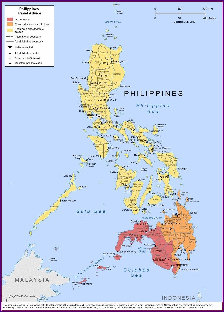 Malaria Map Philippines 2019