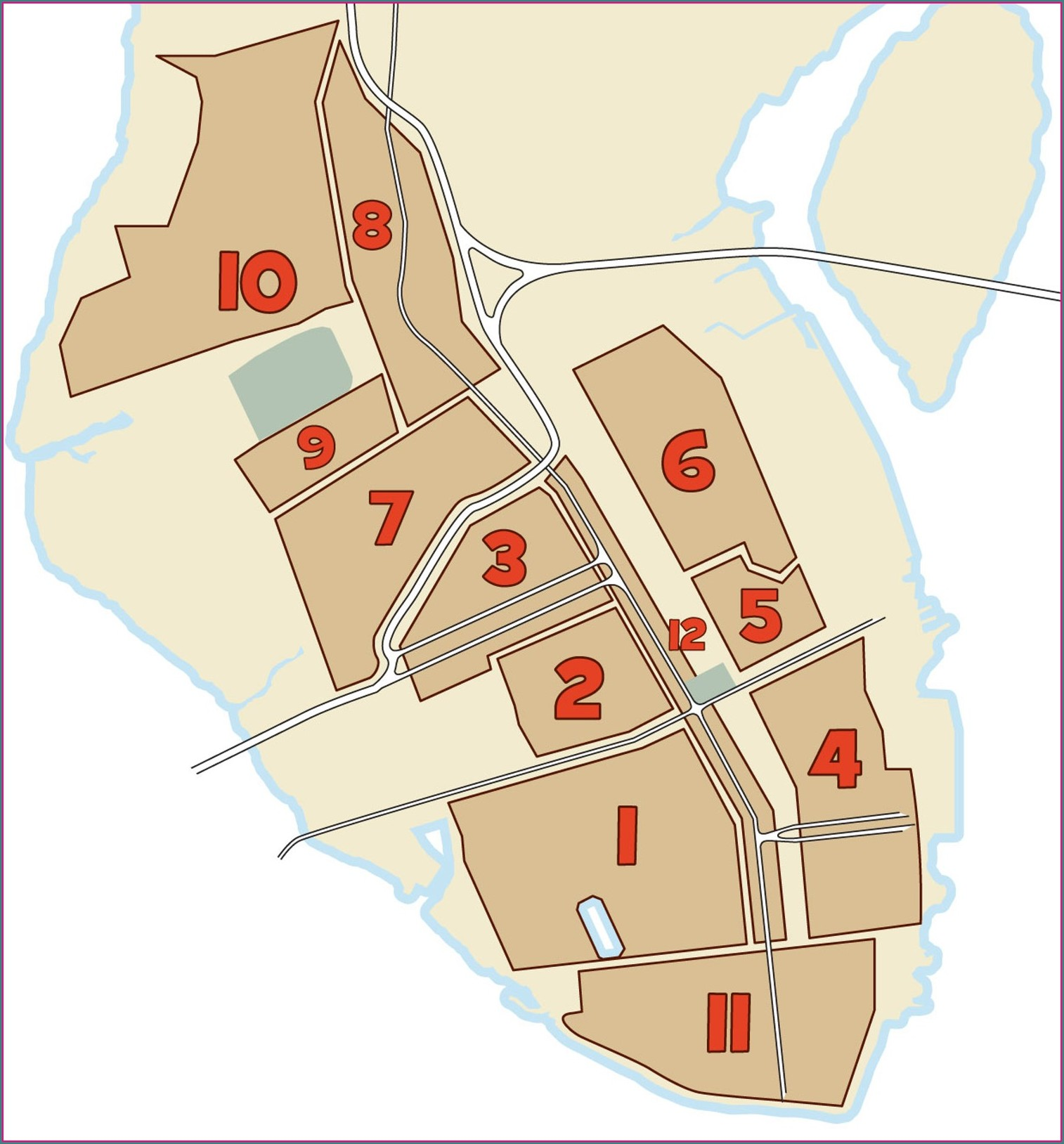 Map Of Charleston Historic District Hotels