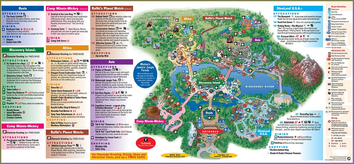Map Of Disneyworld And Surrounding Hotels