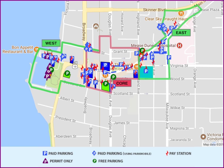 Map Of Downtown Fernandina Beach Fl