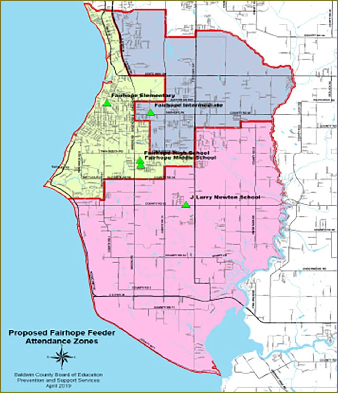 Map Of Fairhope Alabama Neighborhoods