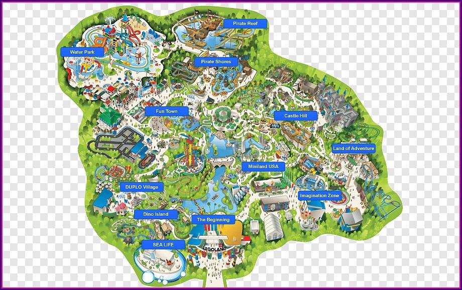 Map Of Hotels Near Legoland California
