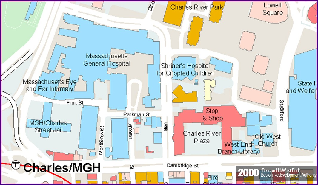Map Of Mgh Boston