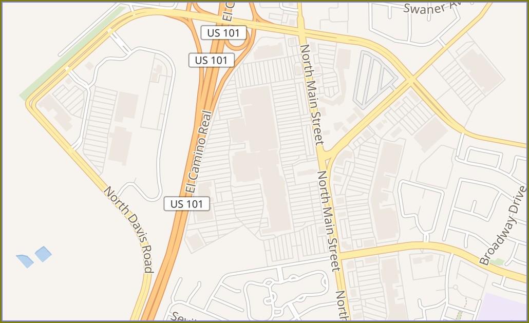 Map Of Northridge Mall Salinas Ca