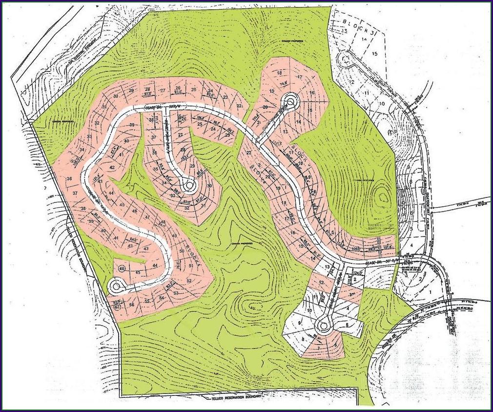 Map Of Tellico Village Neighborhoods