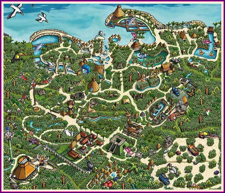 Map Of Xplor Park