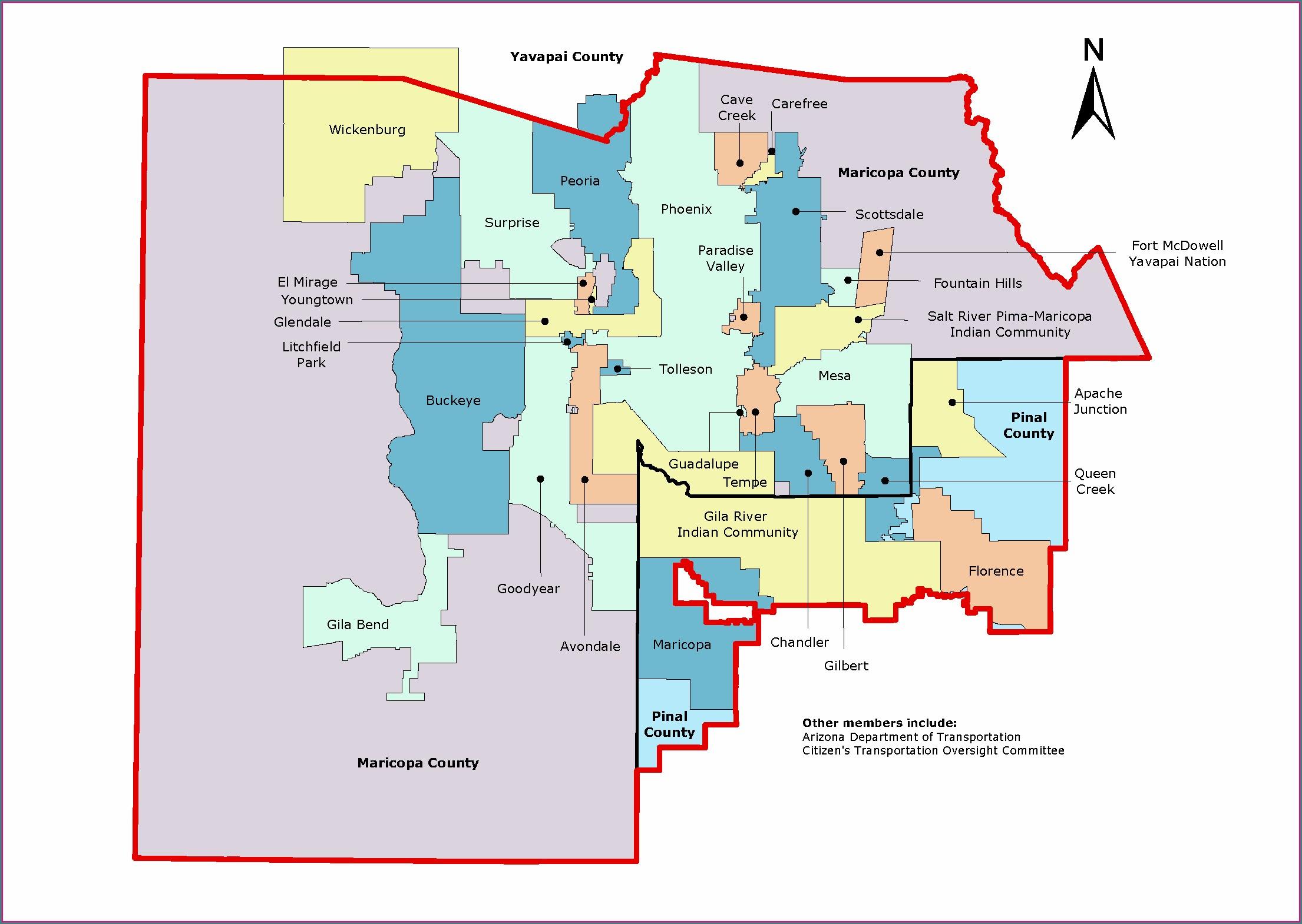 Maricopa Air Quality Map