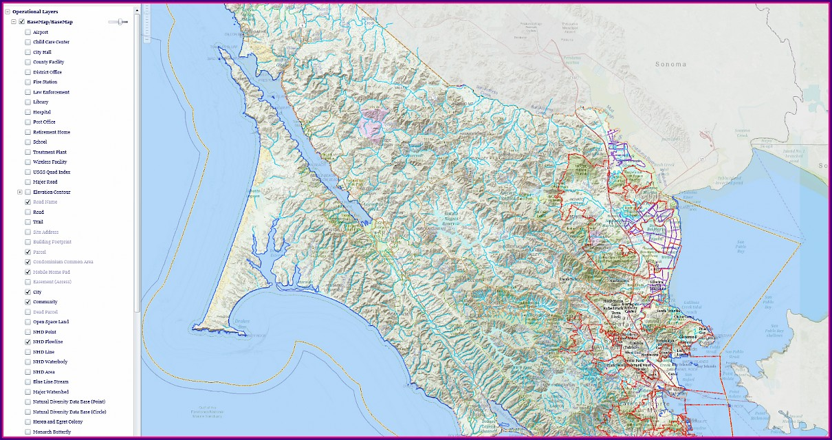 Marin County Assessor Maps
