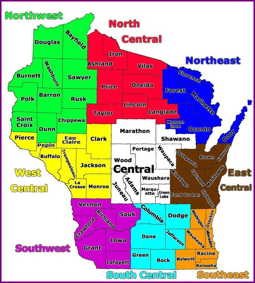Marquette County Wi Snowmobile Trail Map