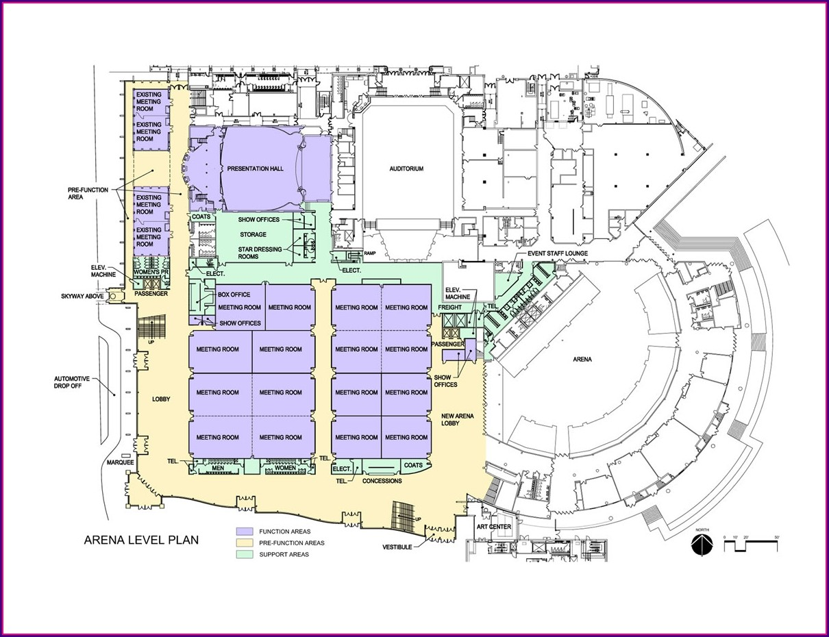 Mayo Civic Center Seating Map