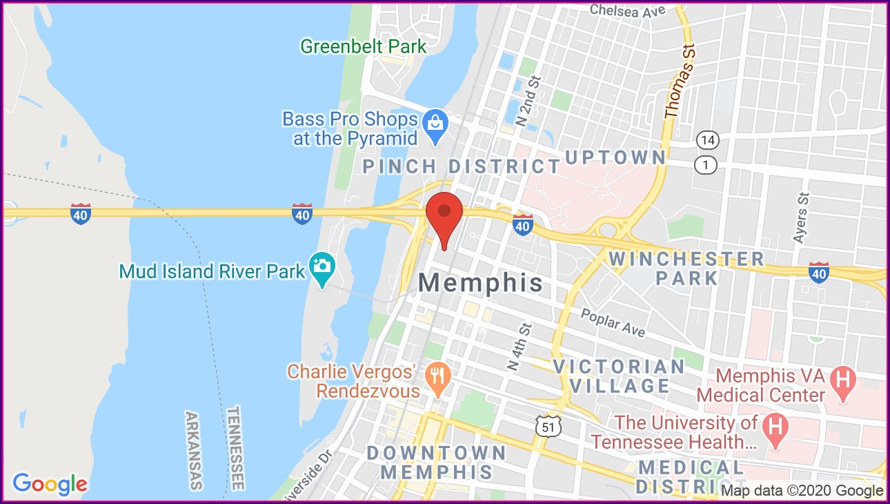 Memphis Cook Convention Center Map