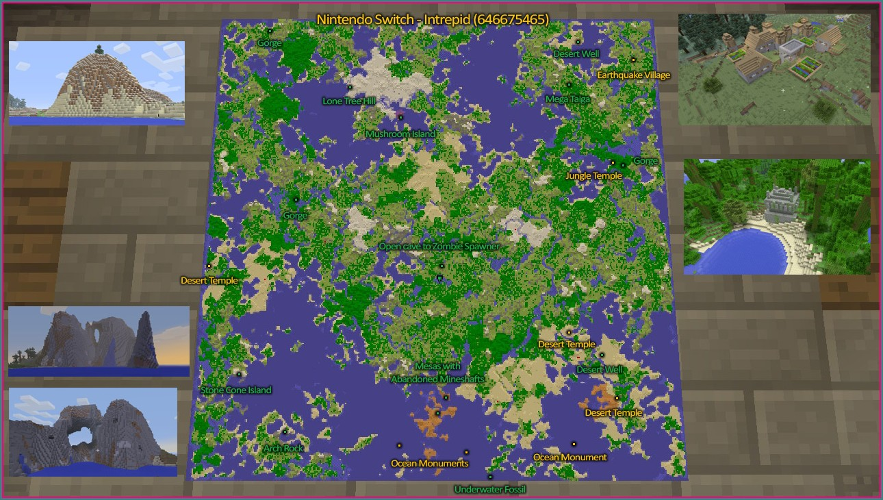 Minecraft Seed Map Viewer Ps4