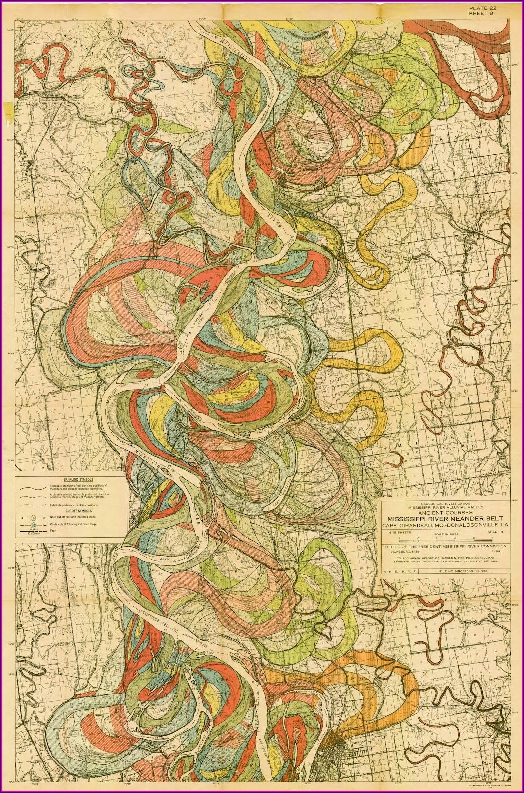 Mississippi River Floodplain Map