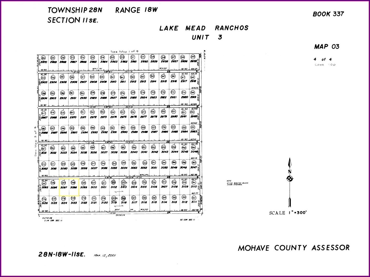 Mohave County Plat Maps
