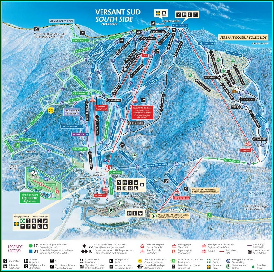 Mont Tremblant Resort Map Pdf
