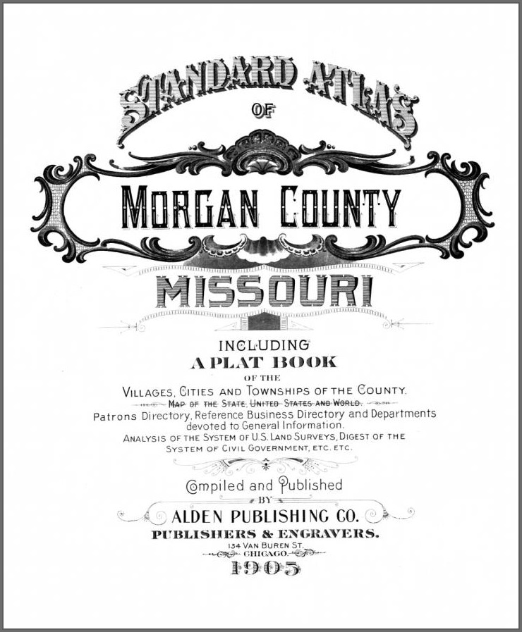 Morgan County Mo Plat Map