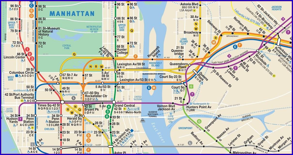Mta Info Subway Map