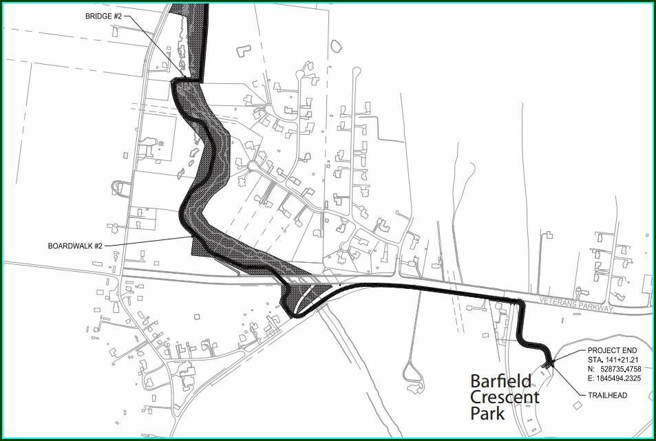 Murfreesboro Greenway Trail Map