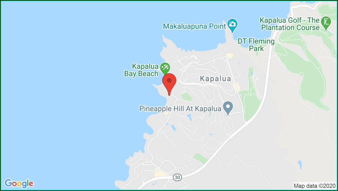 Napili Kai Beach Resort Map