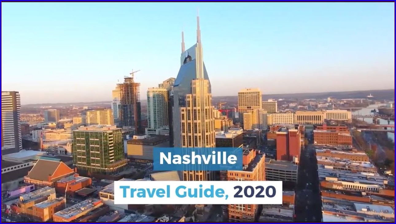 Nashville Tourist Map Pdf