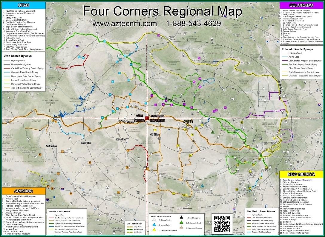 Natural Bridges National Monument Map Pdf