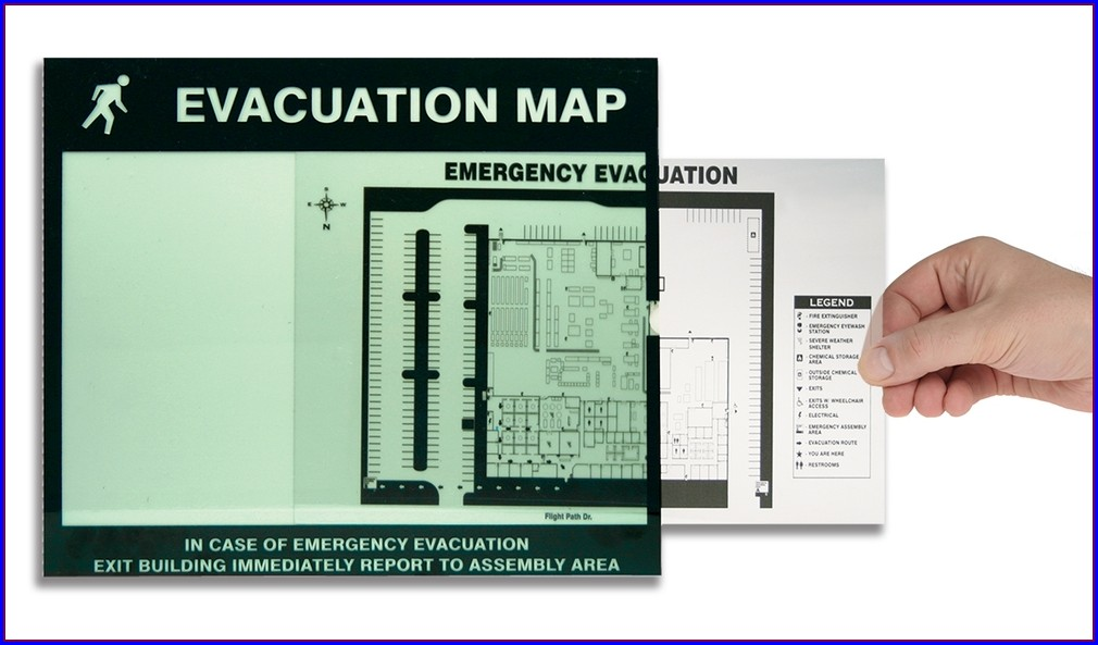 Nfpa Evacuation Map Requirements