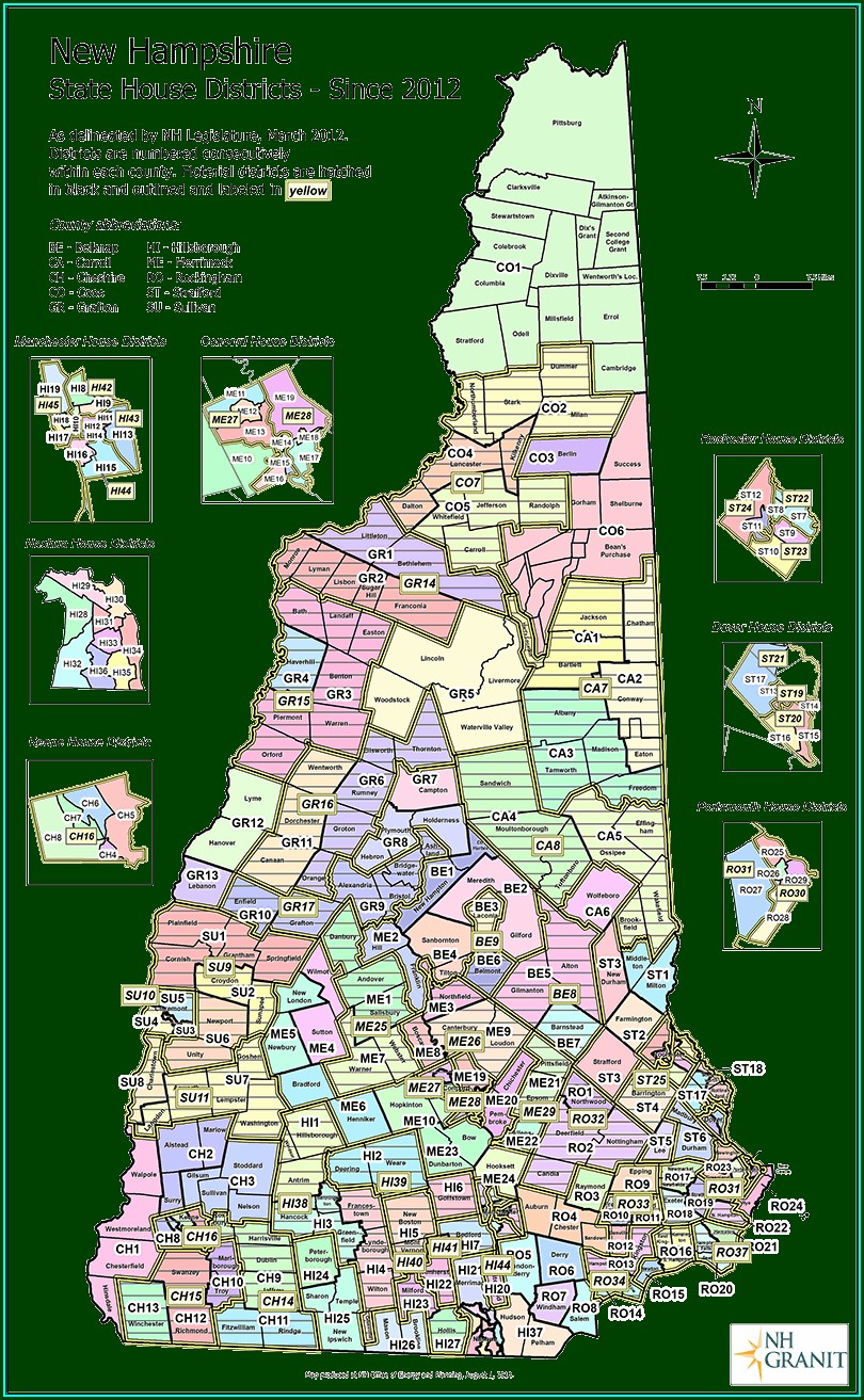 Nh House District Map
