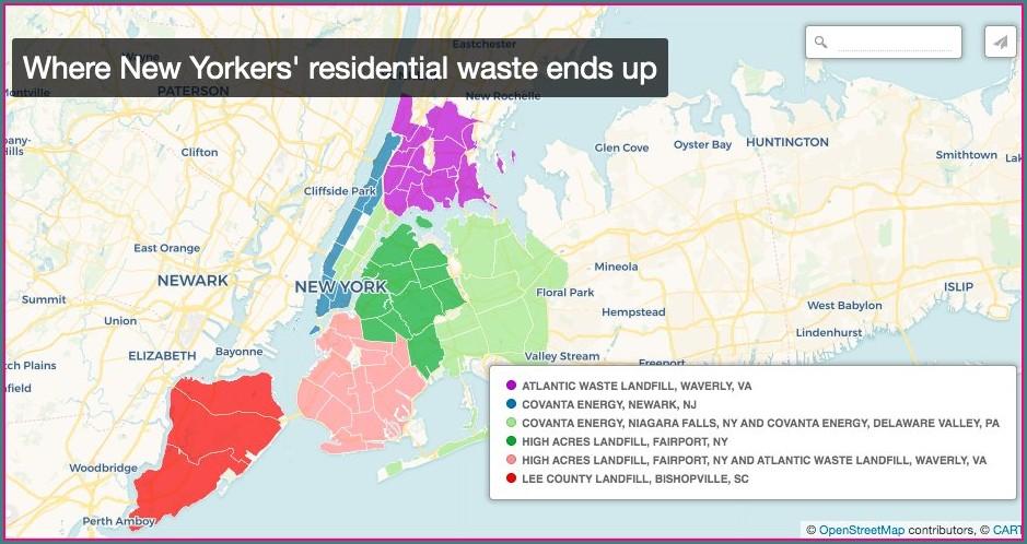 Niagara Sanitation Landfill Map