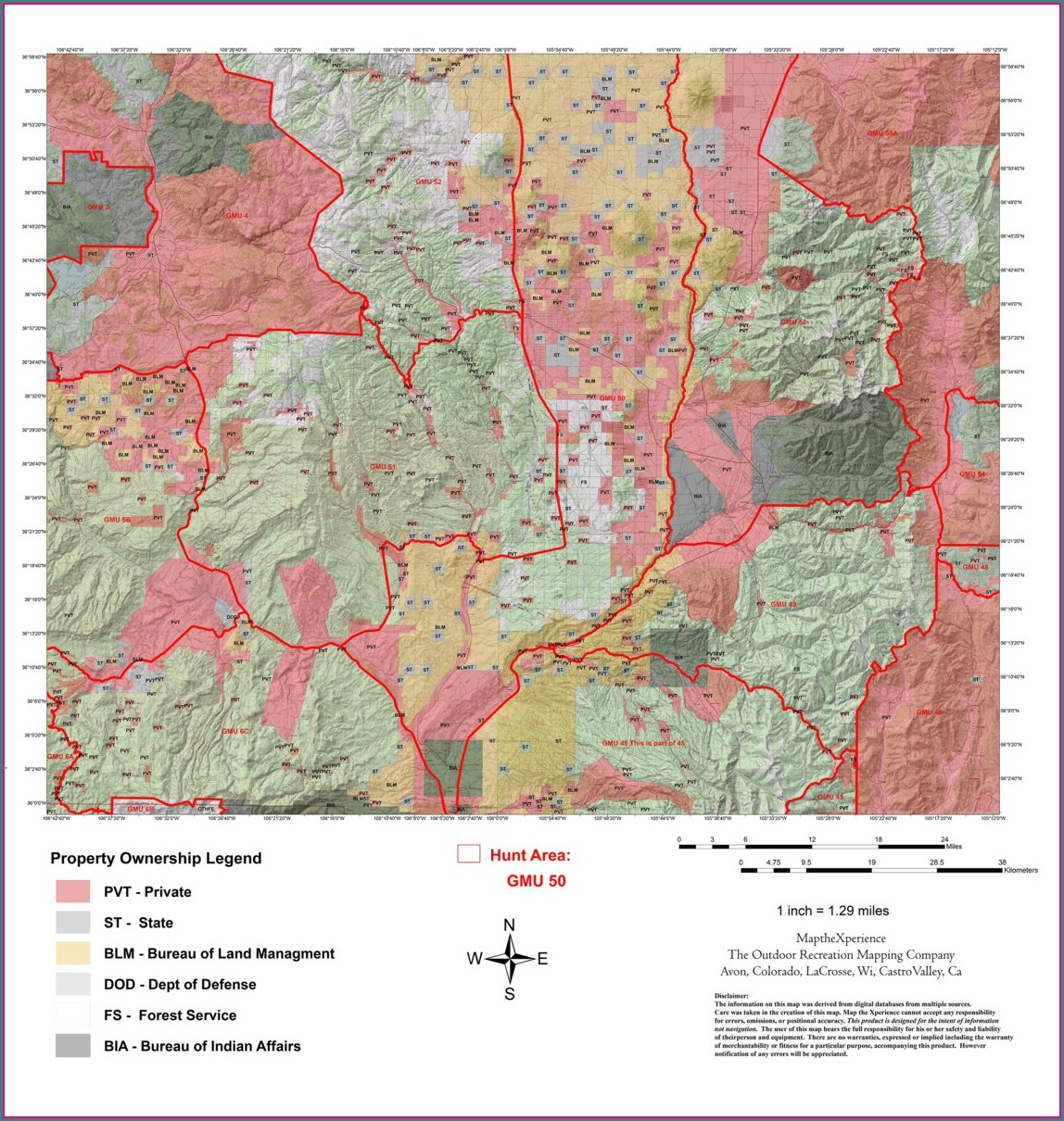 Nm Blm Hunting Maps