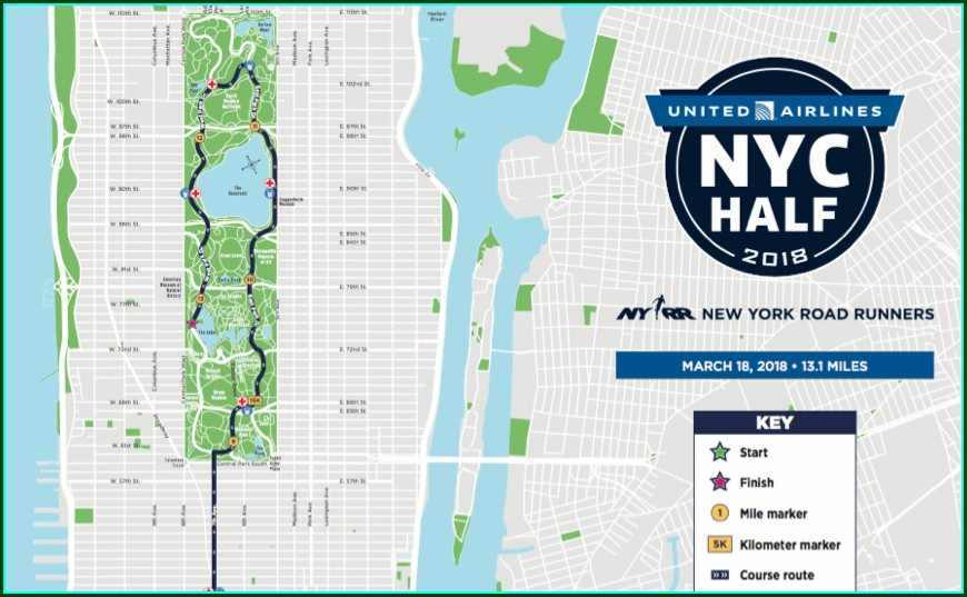 Nyc Half Marathon 2019 Map