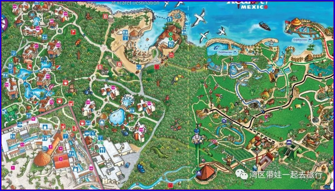 Occidental At Xcaret Destination Map Pdf