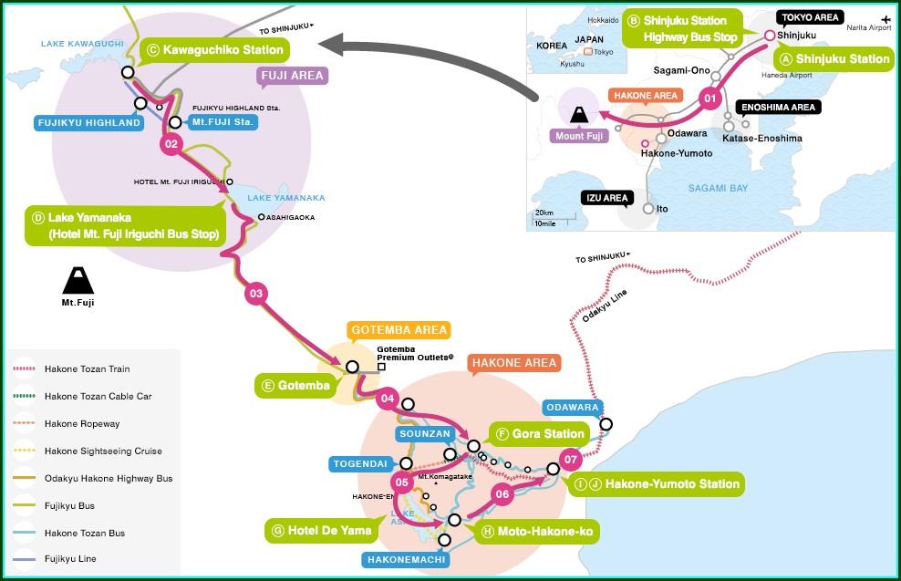 Odakyu Line Map Pdf