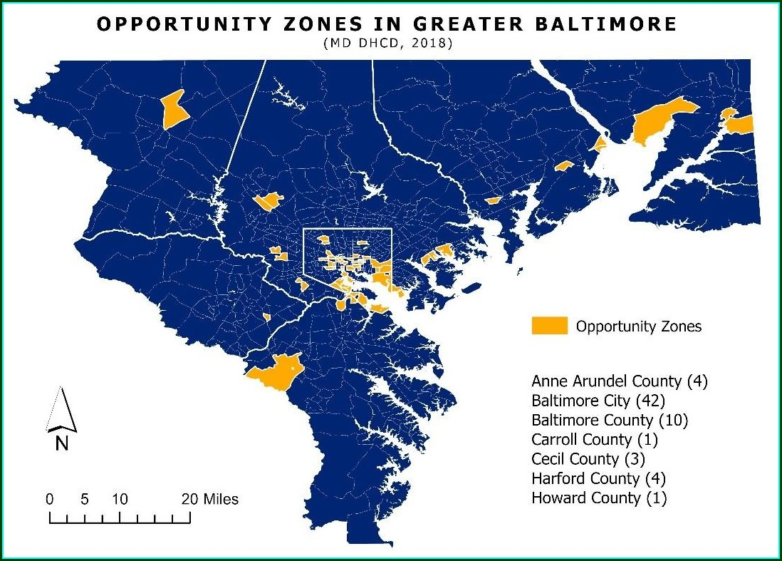 Opportunity Zones Map Rhode Island